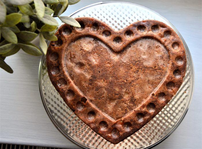 FIT ciasto z jabłkami/ 10 min przygotowanie + 25 min pieczenie