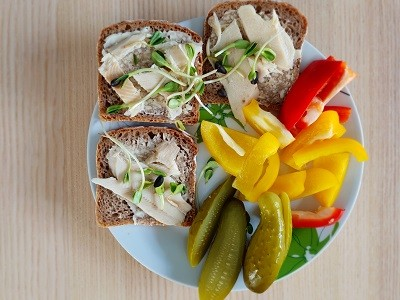 5 pomysłów na fit kanapkę do pracy.
