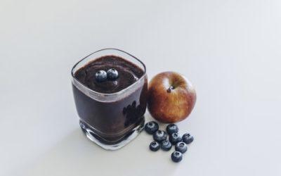 Koktajl herbaciano-borówkowy/ 5 min
